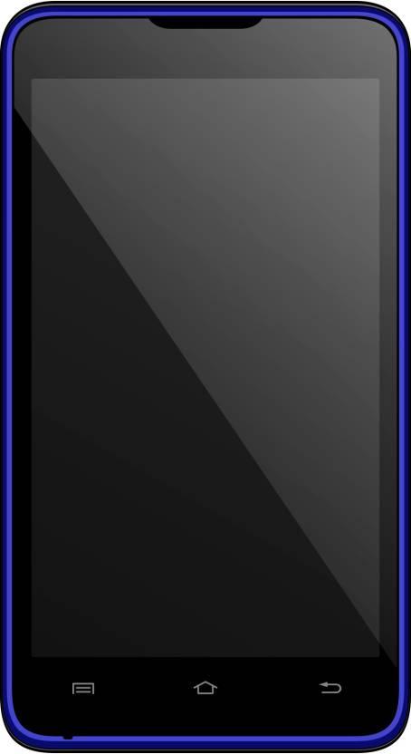 Micromax Canvas Viva A72 (Blue, 110 MB)