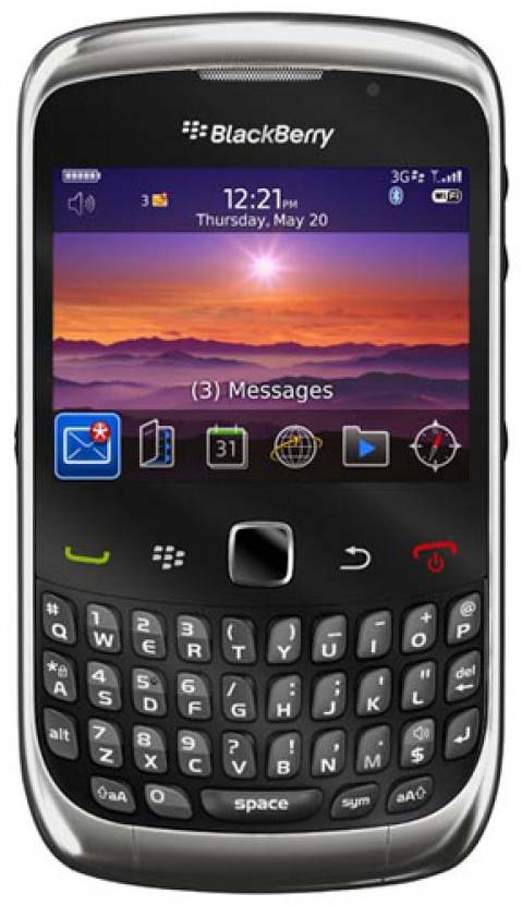 Blackberry Curve 3G 9300 (Graphite Grey, 256 MB)