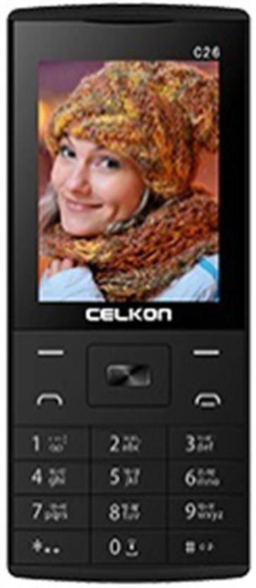 Celkon C26 (BlackYellow)