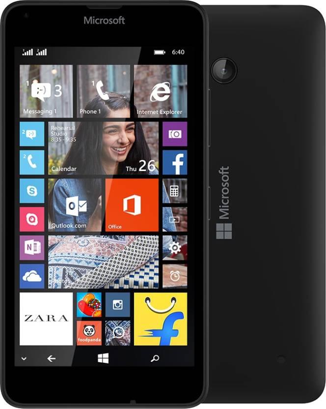 Microsoft Lumia 640 (Black, 8 GB)