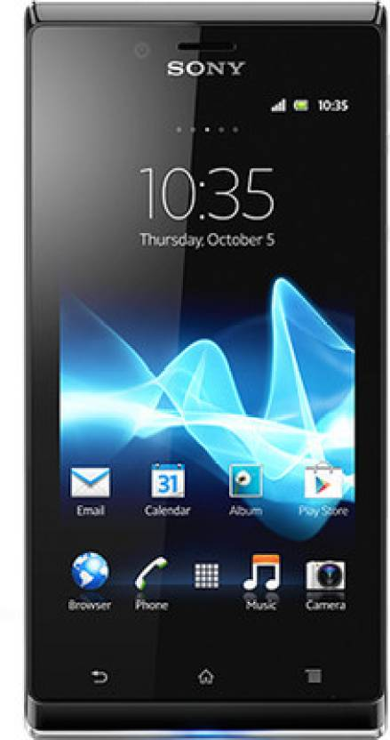 Sony Xperia J (White, 4 GB)