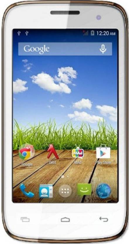 Micromax Bolt A065 (White, 4 GB)