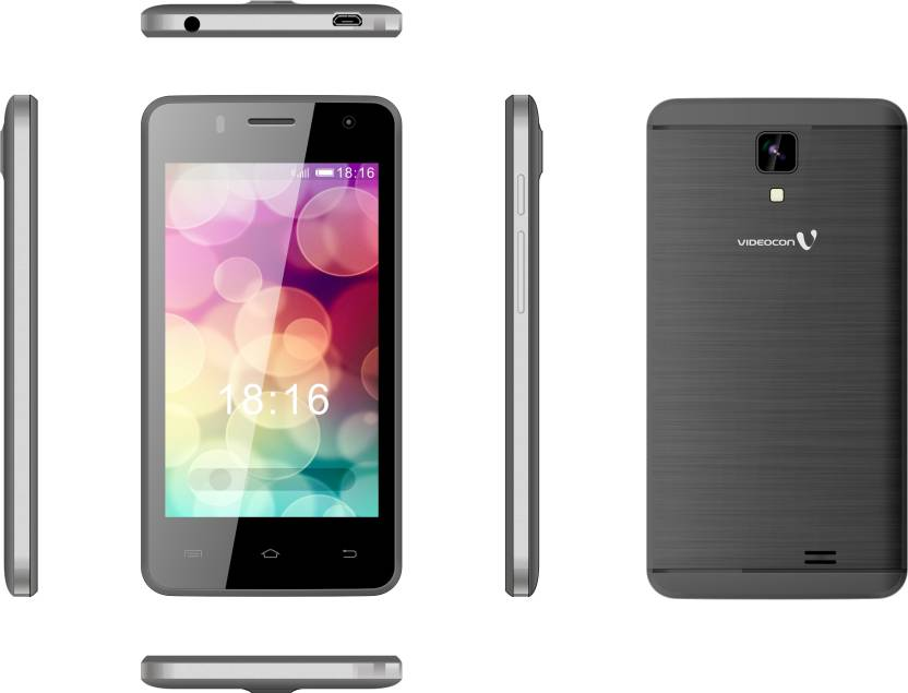 Videocon V40CF1-1 (Grey, 8 GB)