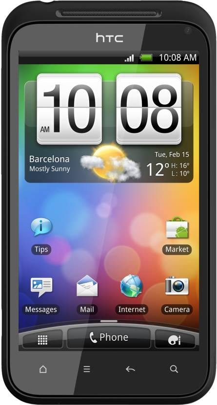 HTC Incredible S (Black, 1.1 GB)
