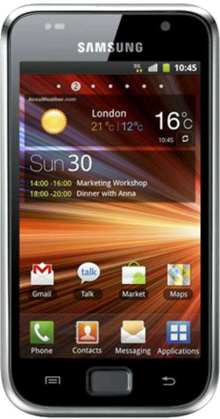 Samsung Galaxy S Plus (Metallic Black, 8 GB)