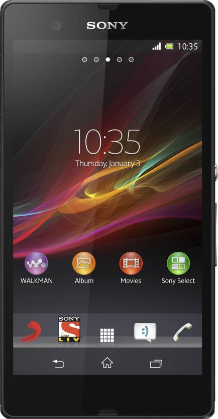 Sony Xperia Z (Black, 16 GB)