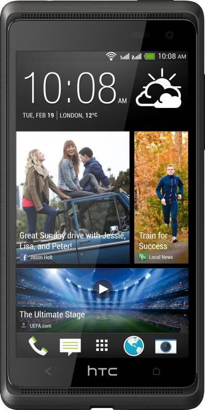 HTC Desire 600 Dual Sim (Stealth Black, 8 GB)
