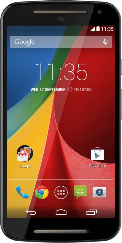Moto G (2nd Generation) (Black, 16 GB)