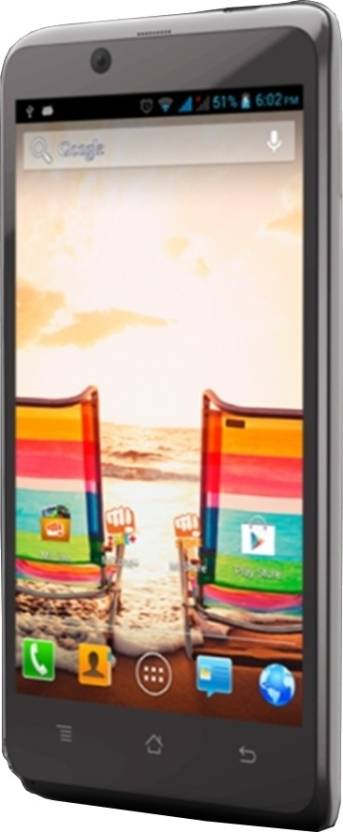 Micromax Canvas Ego A113 (Grey, 4 GB)
