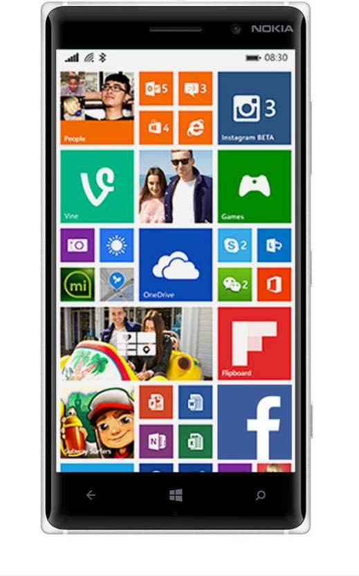 Nokia Lumia 830 (Bright Orange, 16 GB)