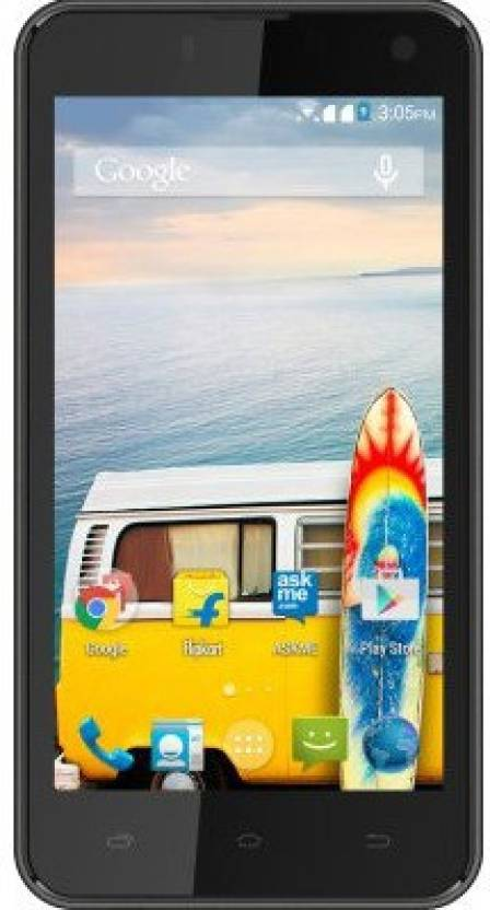 Micromax Bolt Q333 (Black, 4 GB)