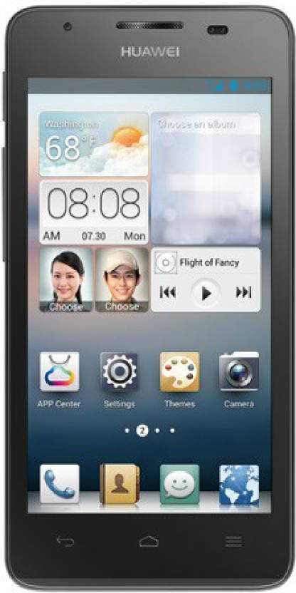 Huawei Ascend G510 (Black, 4 GB)