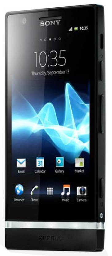 Sony Xperia P (Black, 16 GB)