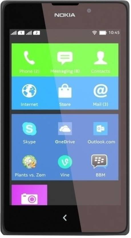 Nokia XL (Black, 4 GB)