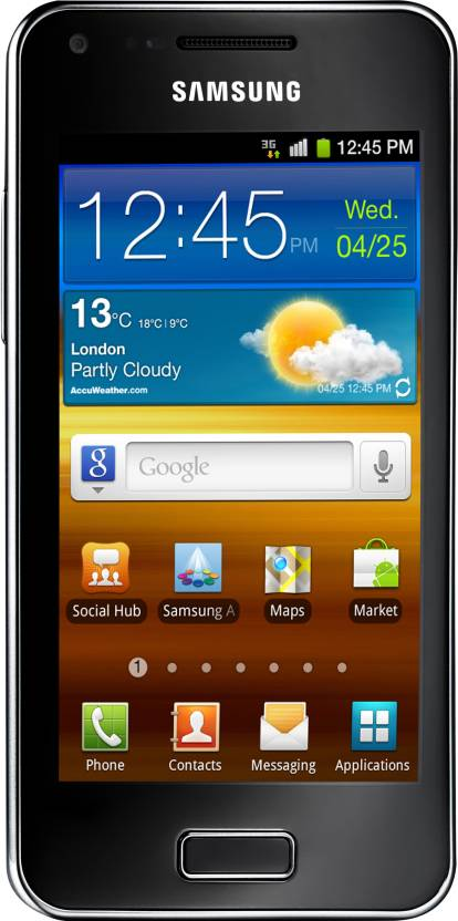 SAMSUNG Galaxy S Advance (Metallic Black, 16 GB)
