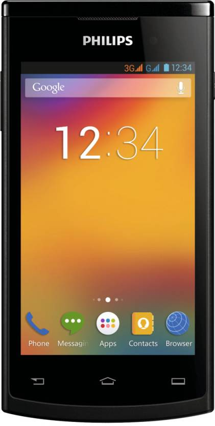 Philips S308 (Black, 4 GB)