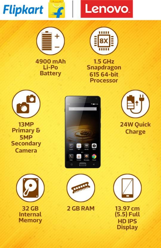 Lenovo VIBE P1 (Grey, 32 GB)(2 GB RAM)