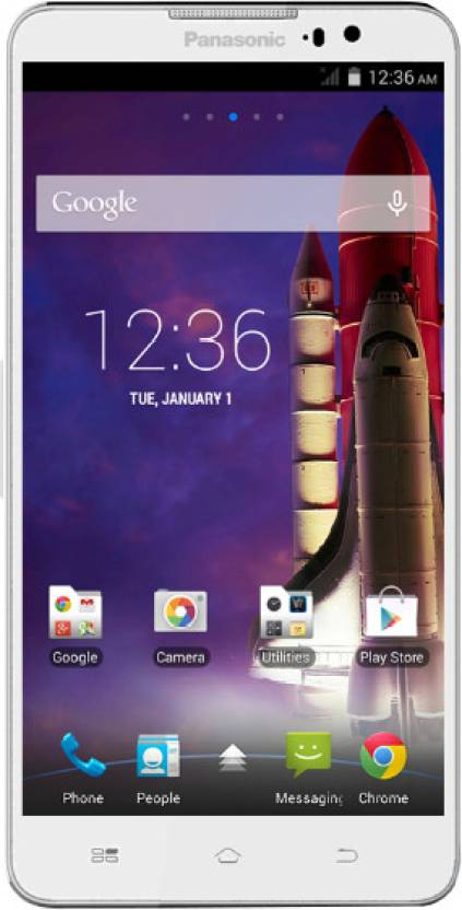 Panasonic Eluga S (White, 8 GB)
