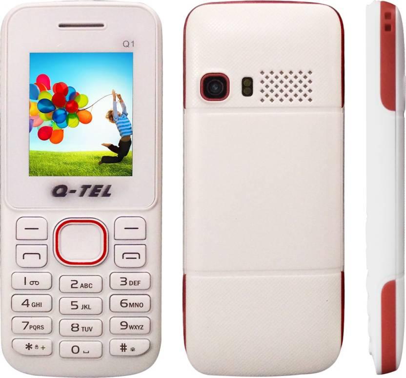 Q-Tel Q1 (White, Red)