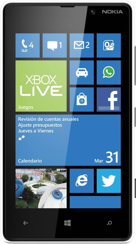 Nokia Lumia 820 (White, 8 GB)