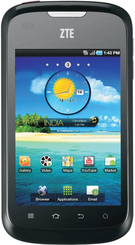 ZTE Kis Flex V793 (Black, 512 MB)