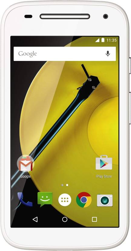 Moto E (2nd Gen) 4G (White, 8 GB)