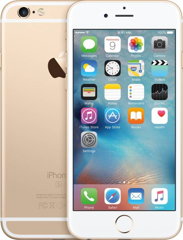 Apple iPhone 6s (Gold, 128 GB)