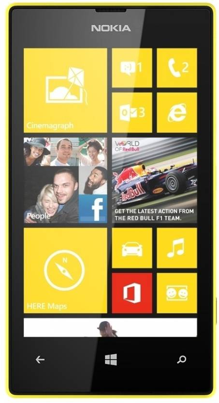 Nokia Lumia 520 (Yellow, 8 GB)