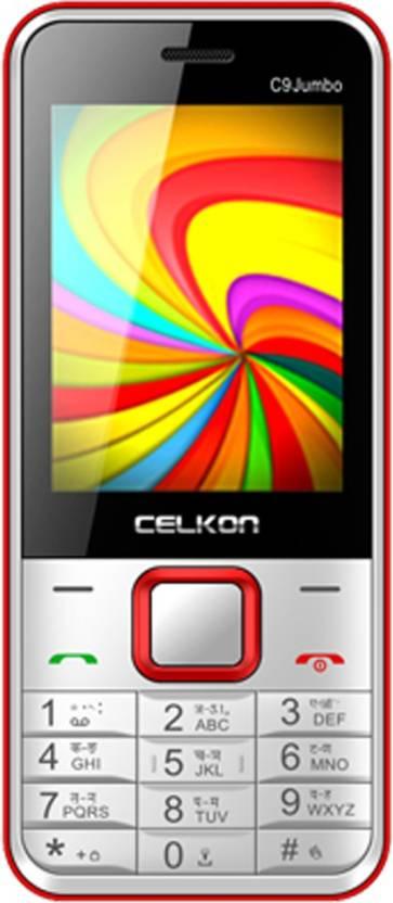 Celkon C9 Jumbo (Black & Red)
