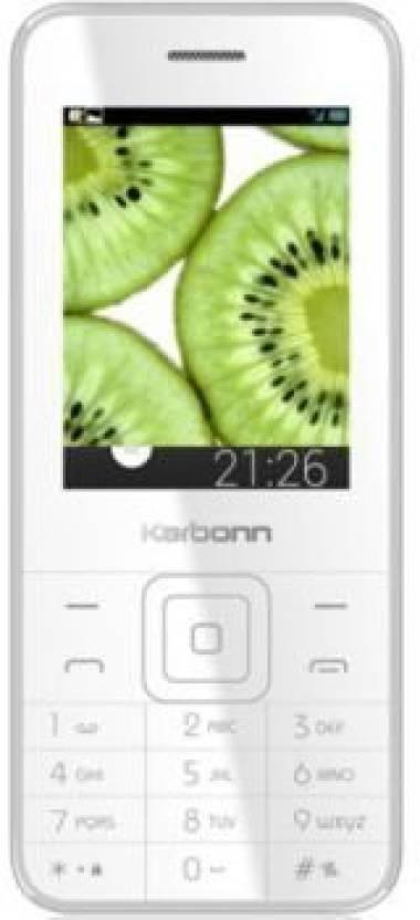 Karbonn K PHONE 1 (White, Champagne)