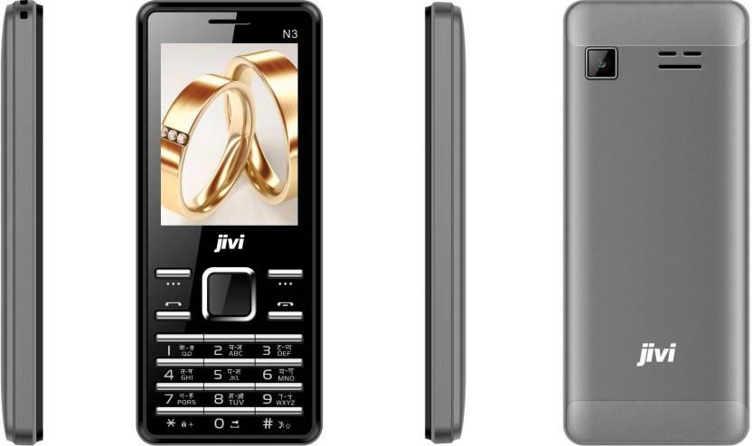 Jivi N3 (Black & Grey)