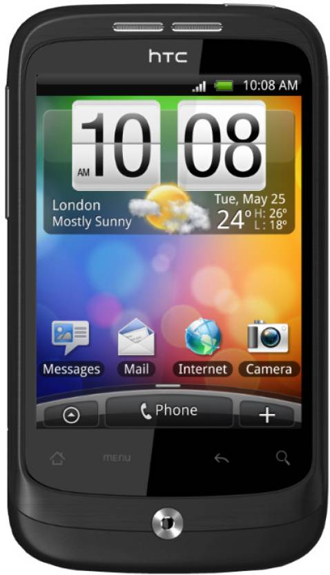 HTC Wildfire (Black, 512 MB)
