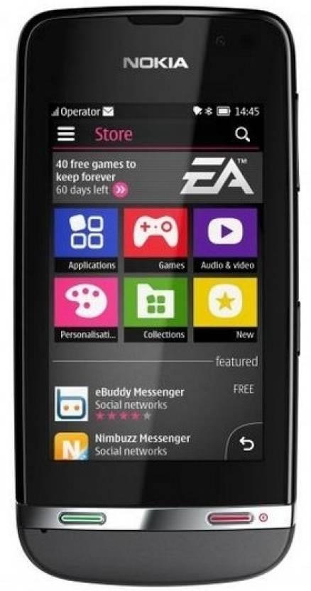 Nokia Asha 311 (Dark Grey, 140 MB)