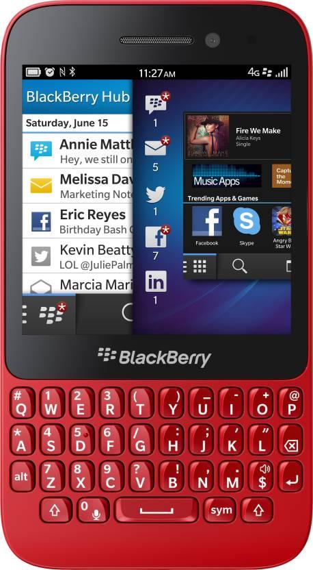 Blackberry Q5 (Red, 8 GB)