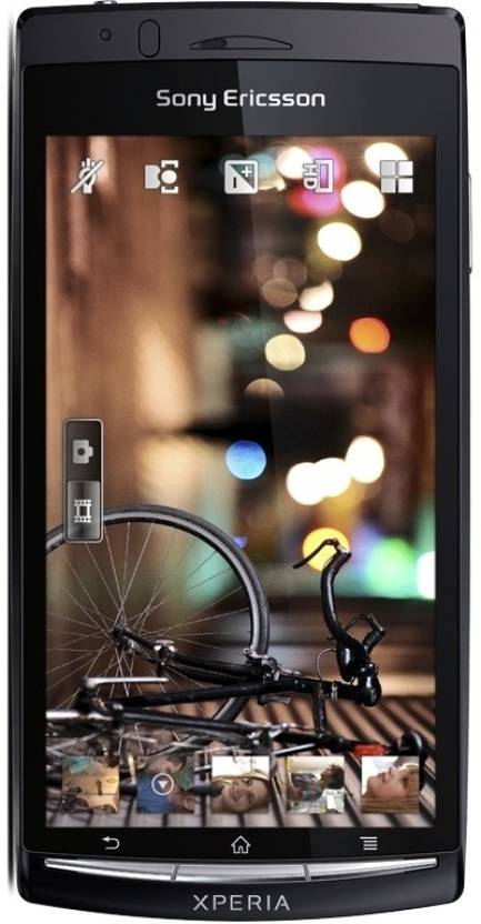 Sony Ericsson Xperia Arc S (Gloss Black, 320 MB)