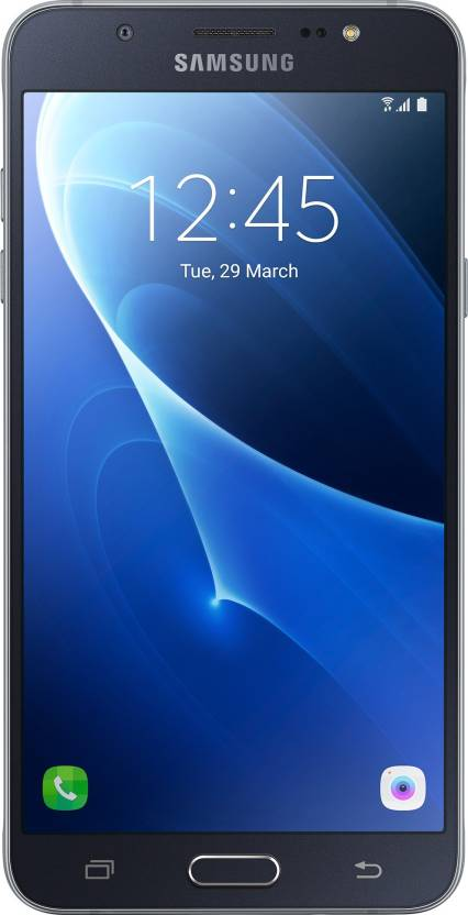 Samsung Galaxy J7 - 6 (New 2016 Edition) (Black, 16 GB)