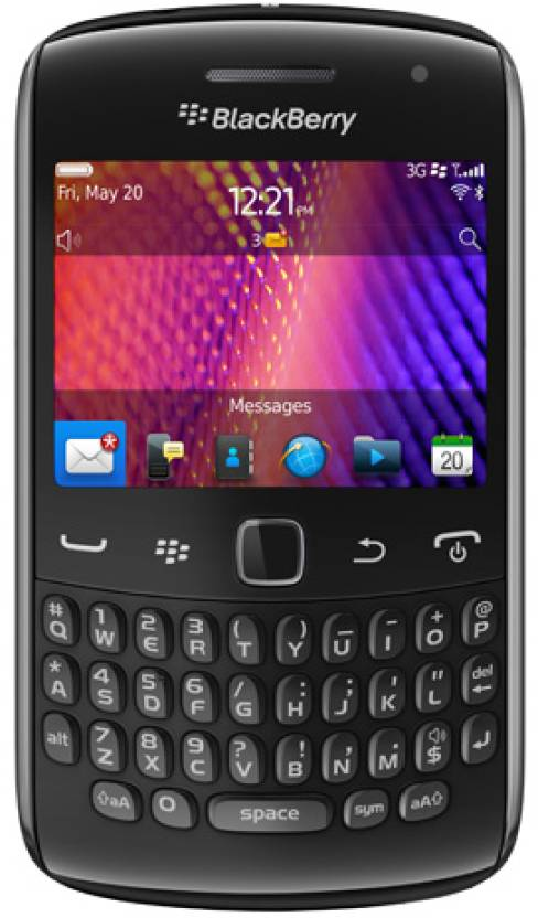 Blackberry 9360 (Black, 512 MB)