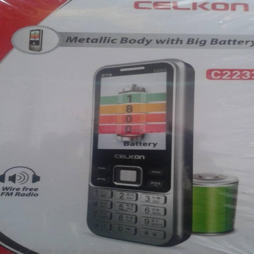Celkon C2233 (Silver)