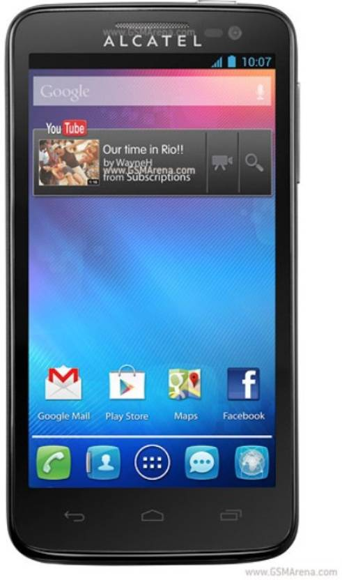 Alcatel j636dplus (Black, 512 MB)