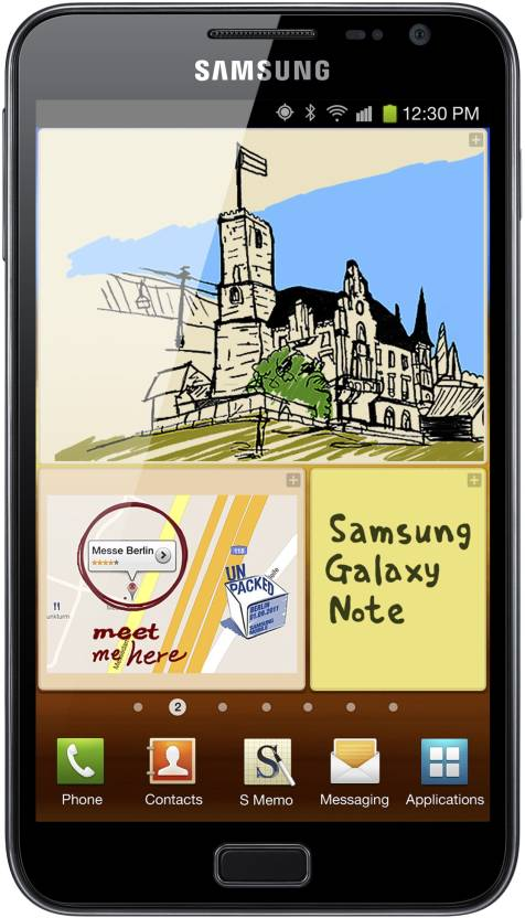Samsung Galaxy Note (Blue, 16 GB)