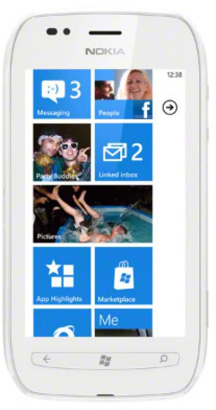Nokia Lumia 710 (White, 8 GB)