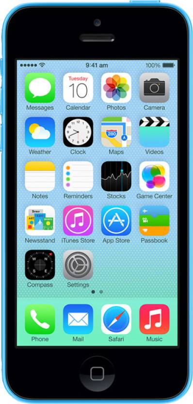 Apple iPhone 5C (Blue, 16 GB)