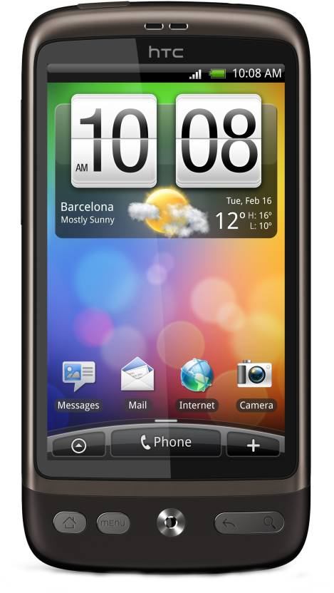 HTC Desire (Brown, 512 MB)
