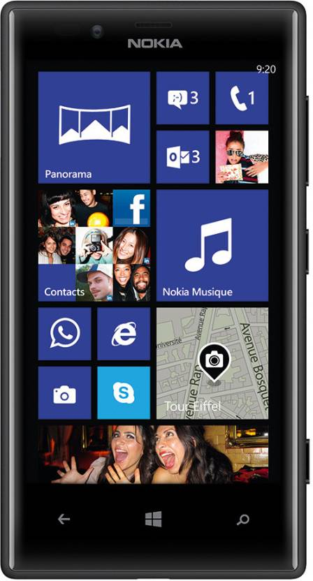 Nokia Lumia 720 (Black, 8 GB)