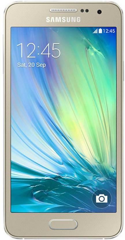 Samsung Galaxy A3 (Champagne Gold, 16 GB)