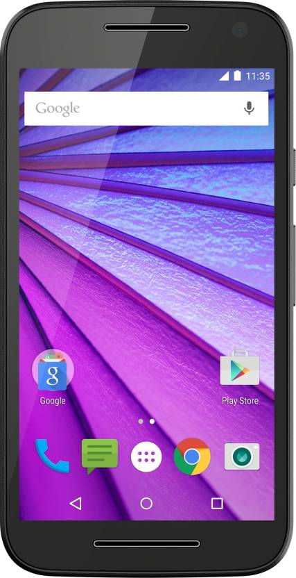 Moto G (3rd Generation) (Black, 16 GB)