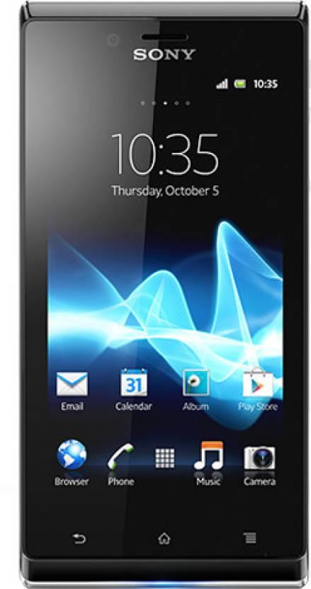Sony Xperia J (Black, 4 GB)