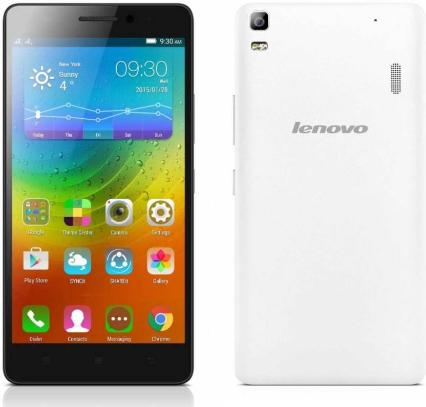 Lenovo A7000 Turbo (White, 16 GB) (2 GB RAM)