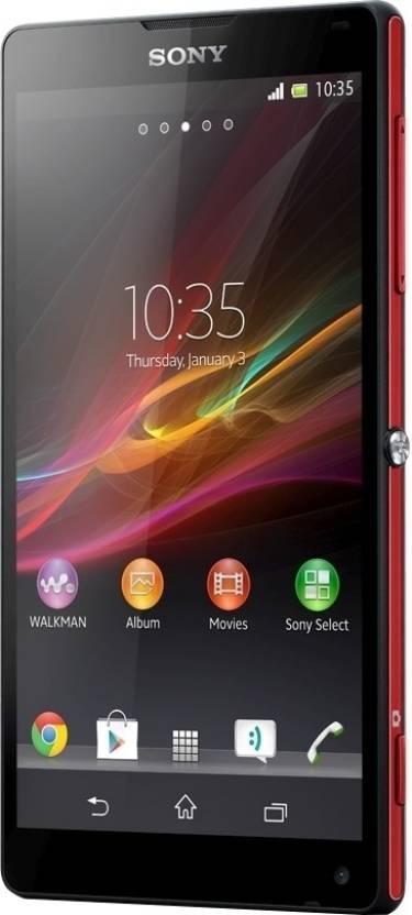 Sony Xperia ZL (Red, 16 GB)