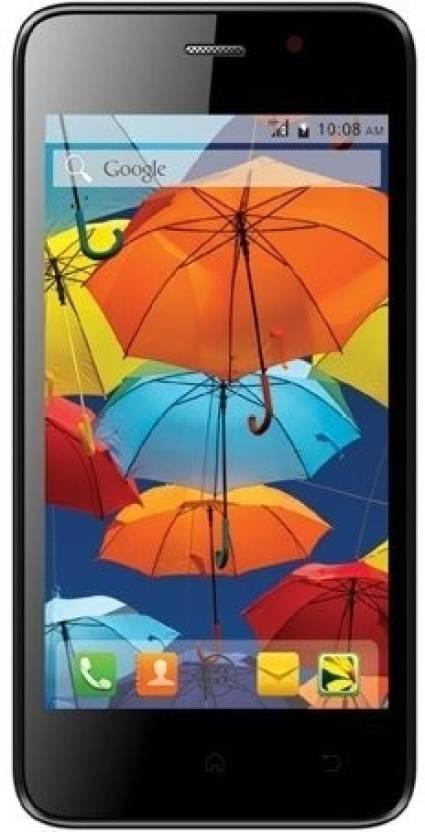 Intex Aqua Style Mini (Black, 4 GB)